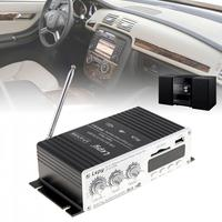 Lepy USB Mini Car Power Amplifier Support USB SD MMC DVD CD FM MP3 4 With