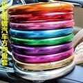9 color 38 cm chapado lindo volante cubre muchacha de las mujeres de moda los accesorios Del Coche Para BMW/Audi/Ford/golf 4 5 6/opel astra
