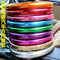 9 color 38cm plating cute steering wheel covers women girl fashion Car accessories For BMW/Audi/Ford/golf 4 5 6/opel astra
