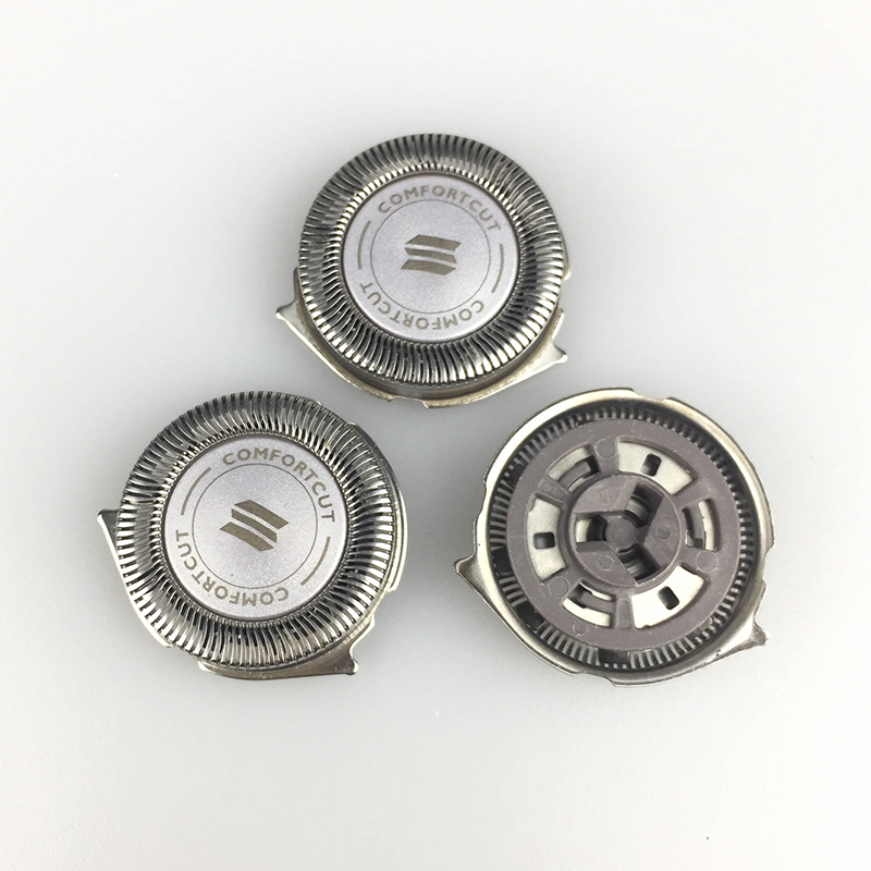 3pcs Razor Replacement Shaving Head for Philips Norelco SH50 S5000 S5010 S5380 S5570 S5571 S5420 Razor Spare Blade image