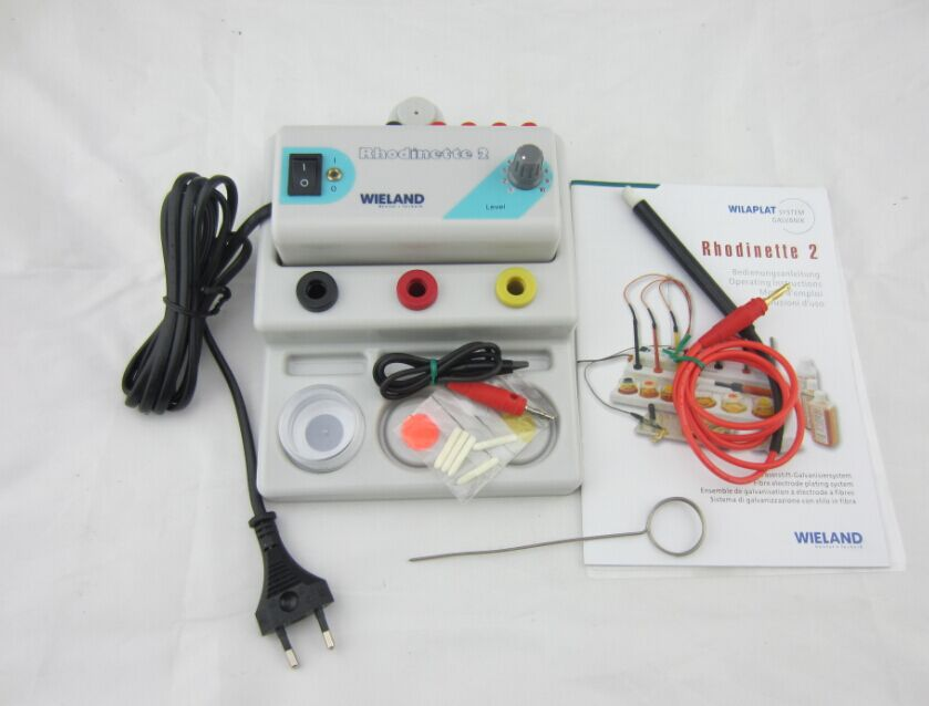 Practical Gold Plating Kit 110V US Plug 5A Silver Gold Plating Machine Jewelry Plater Electroplating Processing Tools With Voltage is Adjustable