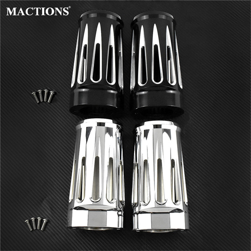 Front Fork Boot Slider Covers For Harley Touring Road King Electra Street Glide FLHX FLHR 1984