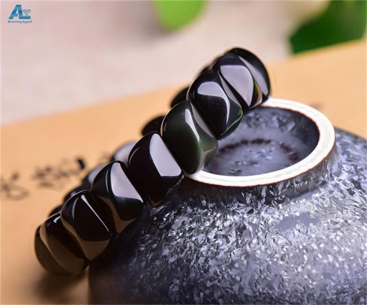 Obsisian bracelet (14)