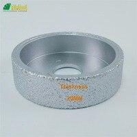 Dia75mmX20mm Vacuum Brazed Diamond Flat Grinding Wheel Profile Wheel For Stone Artificial Stone Ceremics Glass Concrete