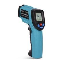 ZOTEK  Adjustable Temperature Gun  GM550 -50~550 C Digital infrared Thermometer laser Pyrometer Aquarium Emissivity