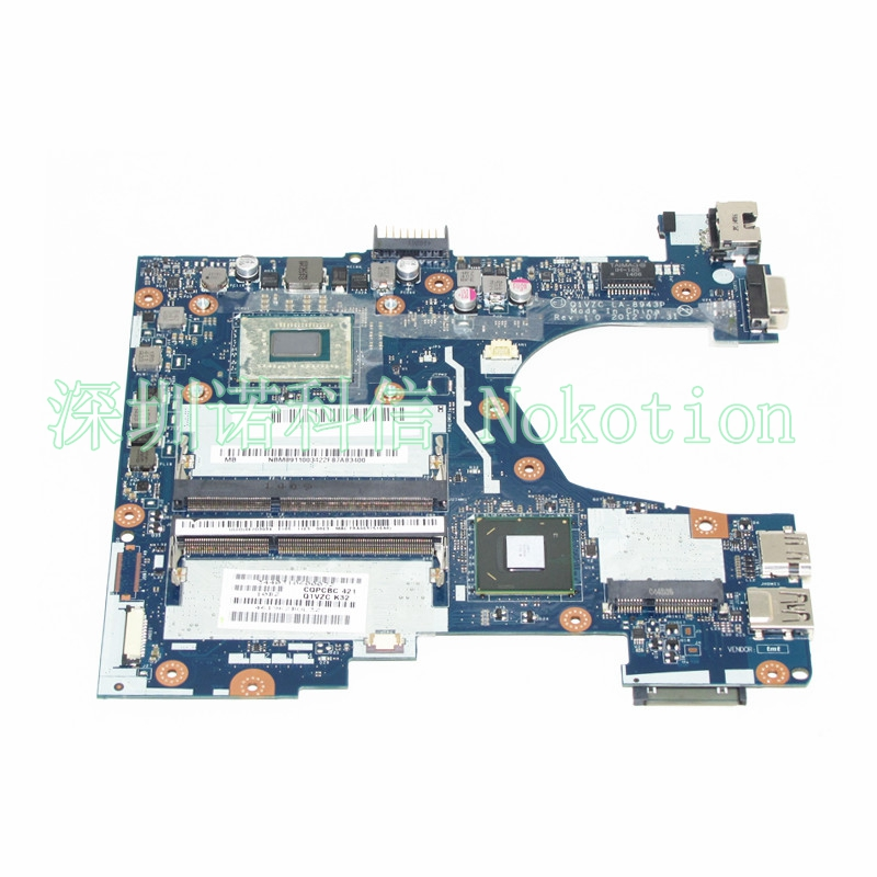 NOKOTION NBM8911003 NB.M8911.003 Q1VZC LA-8943P For acer aspire V5-131 V5-171 Laptop motherboard SR105 2127U CPU original new al12b32 laptop battery for acer aspire one 725 756 v5 171 b113 b113m al12x32 al12a31 al12b31 al12b32 2500mah
