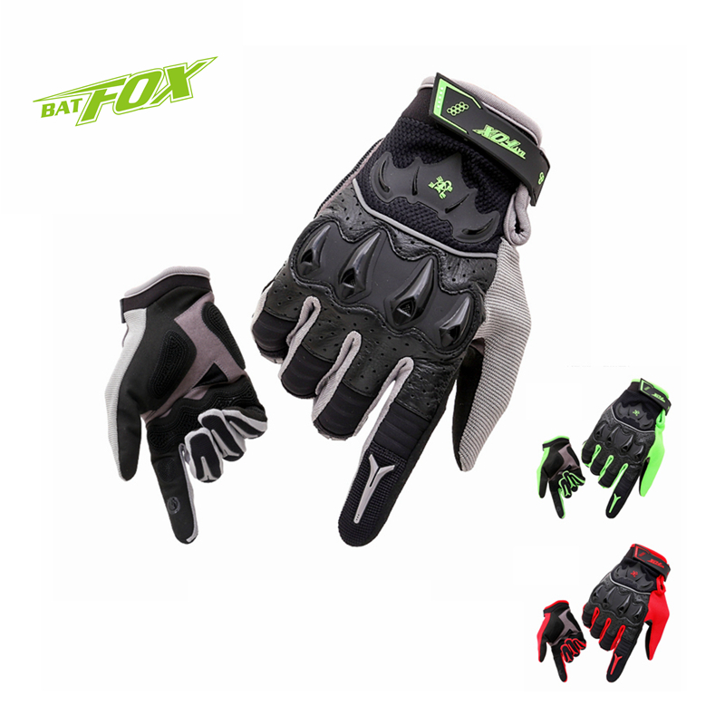 BATFOX Winter Men Cycling Full Finger Gloves Real leather Sports Gloves Touch Screen MTB Road Bike Bicycle Long Finger Gloves  high quality brand bike cycling gloves full finger men women gel touch screen road mountain bicycle racing gloves mtb glove