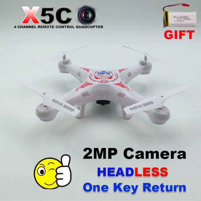 499009245cb1 Original Professional Dron X5C X5 Drone Quadcopter With Camera Headless  6-Axis Real Time Remote