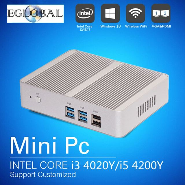 Best Windows 8 1 All in one Gaming Computer Fanless Mini PC HTPC