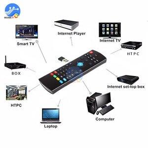 Image 2 - MX3 2.4Ghz Draadloze Afstandsbediening Toetsenbord Voor Fly Air Mouse Android Tv Set Box Ir Afstandsbediening