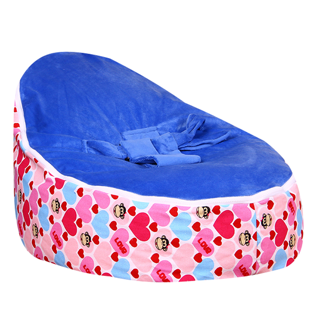 Levmoon MediumMouth Monkey Bean Bag Chair Kids Bed For Sleeping Portable  Folding Child Seat Sofa Zac Without The Filler In Children Sofas From  Furniture On ...