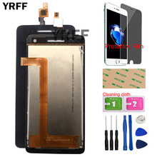 5 Mobile LCD Display For Explay Fresh LCD Display Touch Screen Replacement Digitizer Panel Tools Protector Film