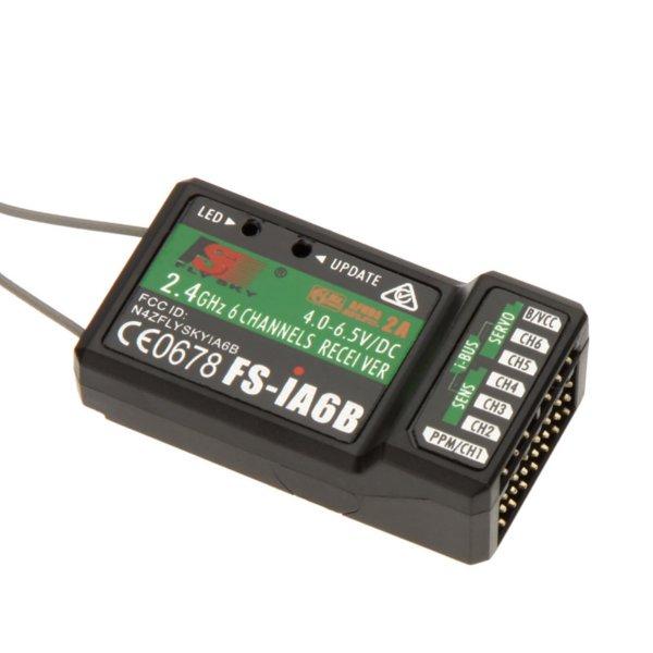 FS-i6X FLYSKY i6X 10CH 2.4 GHz AFHDS 2A transmetteur RC avec récepteur X6B iA6B A8S pour Drone de course RC Qaud FPV - 4