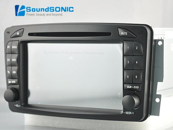 android 4.4 autoradio gps navi dvd radio stereo for mercedes c209