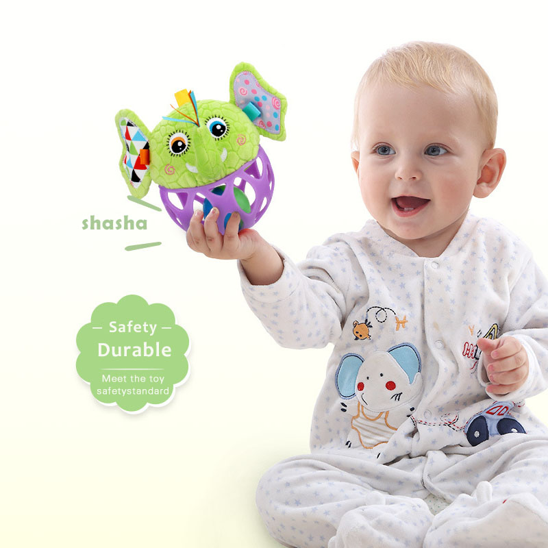 Baby Hand Catching Ball Rattles Baby Toys 0 12 Months Crib Mobile Newborn Tactile Perception Training Educational Toys in Baby Rattles Mobiles from Toys Hobbies