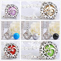 H121 Unique Design Harmony Bola Silver Peace Cage Musical Chime Ball Chain Necklace To Unborn Baby Pregnancy Angel Sounds