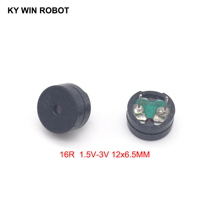 10PCS/Lot Passive Buzzer AC 12MM*6.5MM 12065 16R Resistance 1.5V-3V In Common Use New Wholesale