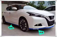 2.5M Car Bumper Rubber Lip Strip Protectoer Car Front Lip Side Skirts for Mazda 3 6 Renault duster skoda Citroen C5 Nissan fiat
