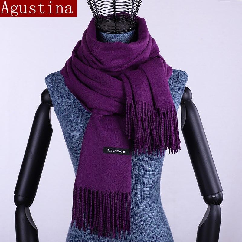 scarf cashmere winter shawl women luxury pashmina mujer sjaal oversize scarves scarfs pink hijab ethnic large long black wool