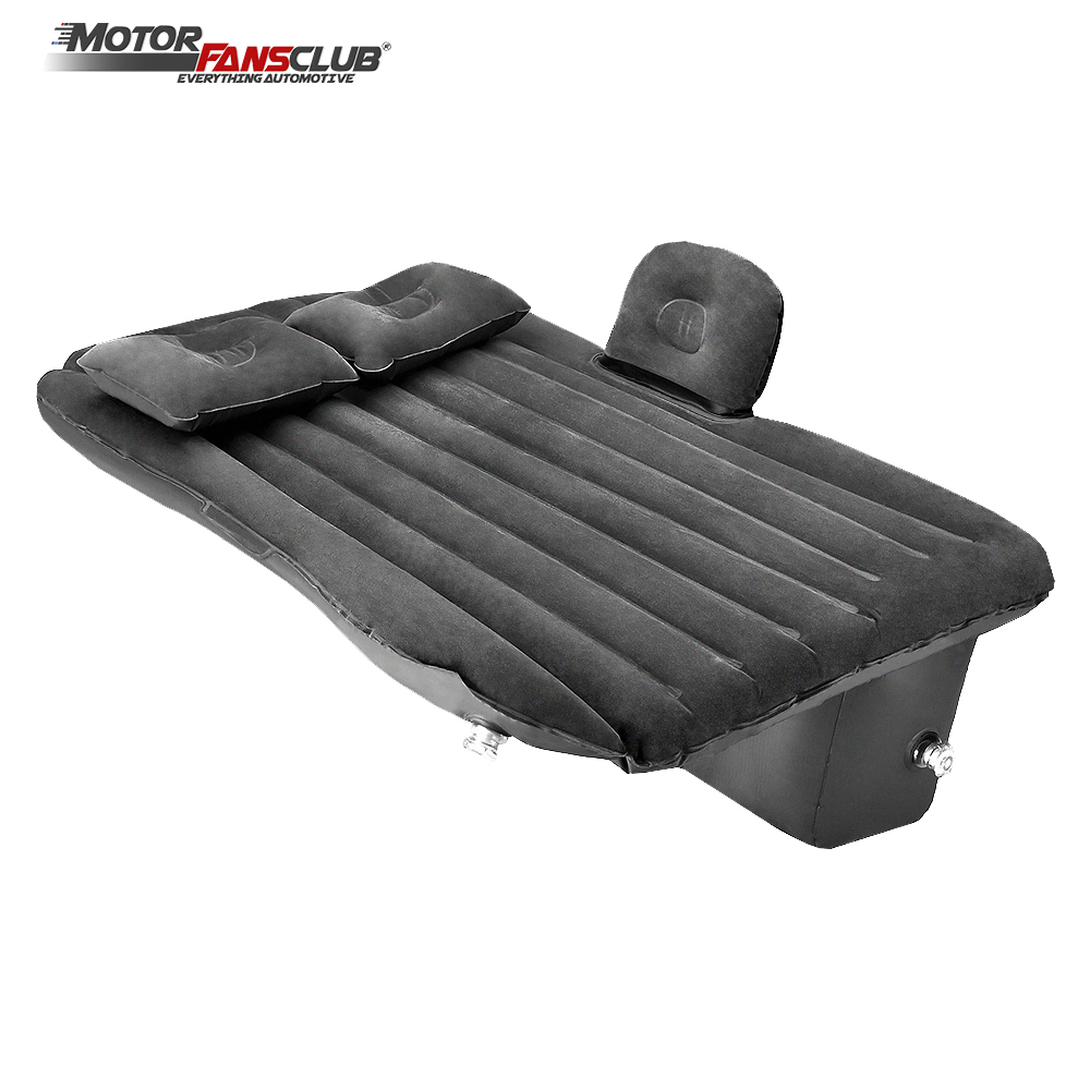 142*88cm Car Air Inflatable Mattress Travel Bed Universal for Auto Back Seat Sofa Pillow Outdoor Camping Mat Cushion For Kids