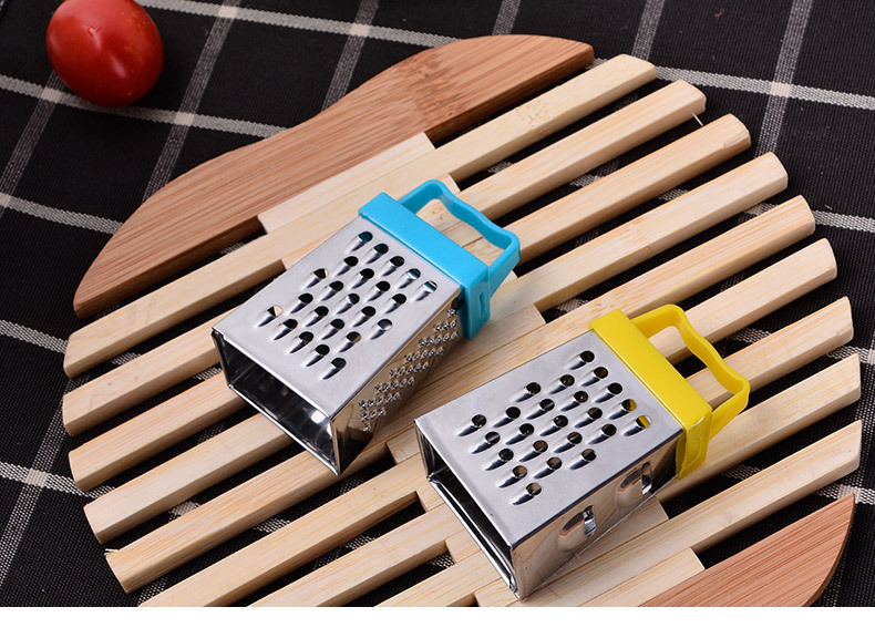 Other Fruit & Vegetable Tools Dutiful Hot Sale Mini Stainless Steel Four-sided Grater Shredder Potato Radish Cutter Minced Ginger Garlic Kitchen Supplies 100% Original