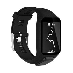 Image 4 - XBERSTARสายรัดข้อมือสำหรับTomTom Runner 2 3สายนาฬิกาสำหรับTomTom Sparkนักกอล์ฟAdventurer Spark 3 GPS Watch TPE