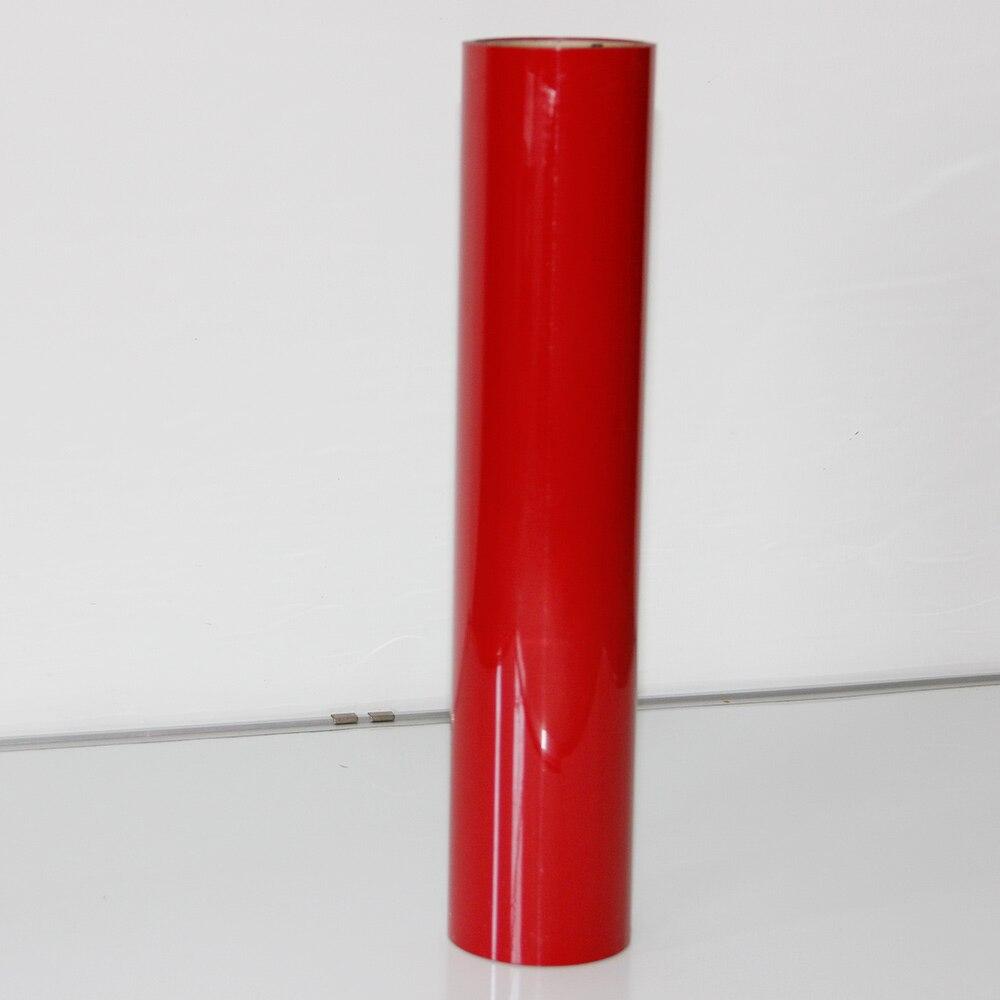 0.3x30 m rouge PU transfert de chaleur vinyle rouleau t-shirt bricolage vinyle transfert feuilles-meilleur fer sur HTV vinyle pour Silhouette camée, Cricut