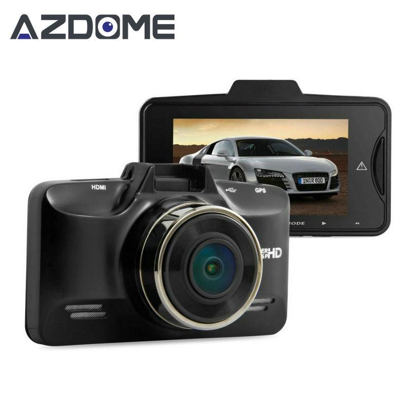"imágenes para Azdome GS98C LA70 Coche DVR de Ambarella A7 Full HD 1296 P 30fps 2.7 ""LCD 170 grados video Recorder g-sensor HDR Cámara de La Rociada GPS H30"