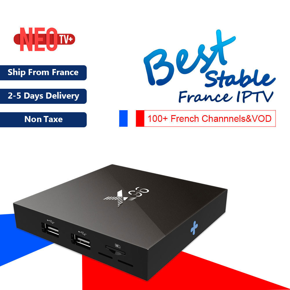 Newest X96 Android 6 0 Amlogic S905X 1GB 2GB 8GB Smart TV BOX With Best French