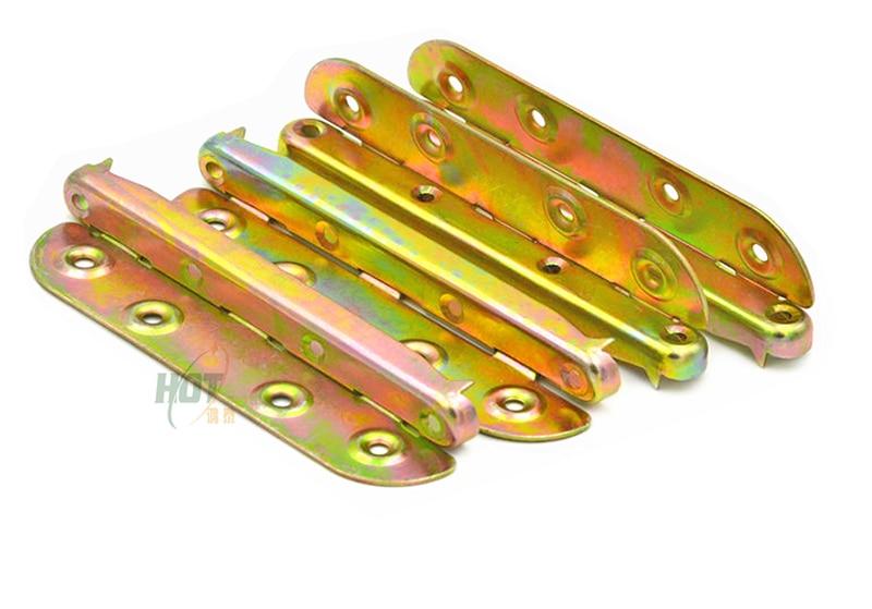 Angolo Del Letto : 6 pollice incastro piastra letto pezzi accessori cerniera linked