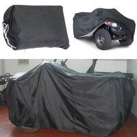 Mayitr Black Universal XL Waterproof 190T Polyester Taffeta Quad ATV Cover Vehicle Scooter Motorbike Cover