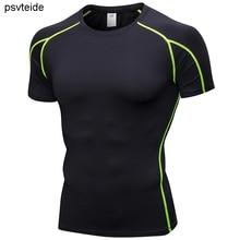 Men's sports T-shirts fitness shirts dryfit short sleeve t s