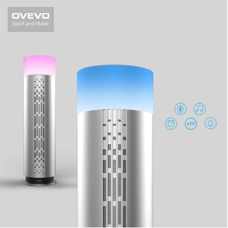 Music Center Ovevo Z3 Wifi Portable Speakers Bluetooth HIFI Speaker Smart APP LED Night Lamp Mini Sound Box Desktop Speakers
