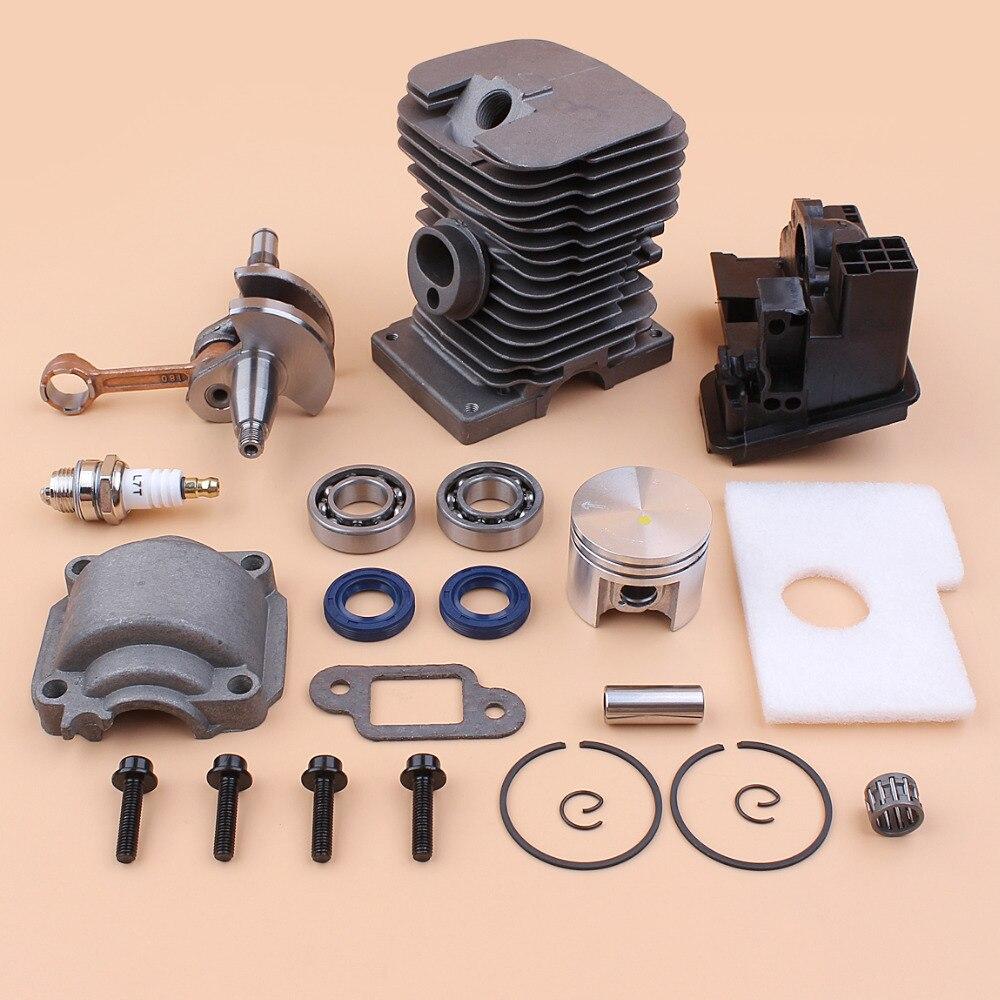Oil Chainsaws Cylinder 1130  Crankshaft STIHL 017 Saws MS170 Bearing Piston MS Gas 020 Kit 018 170 Fit Seal MS180 Motor 1208 180
