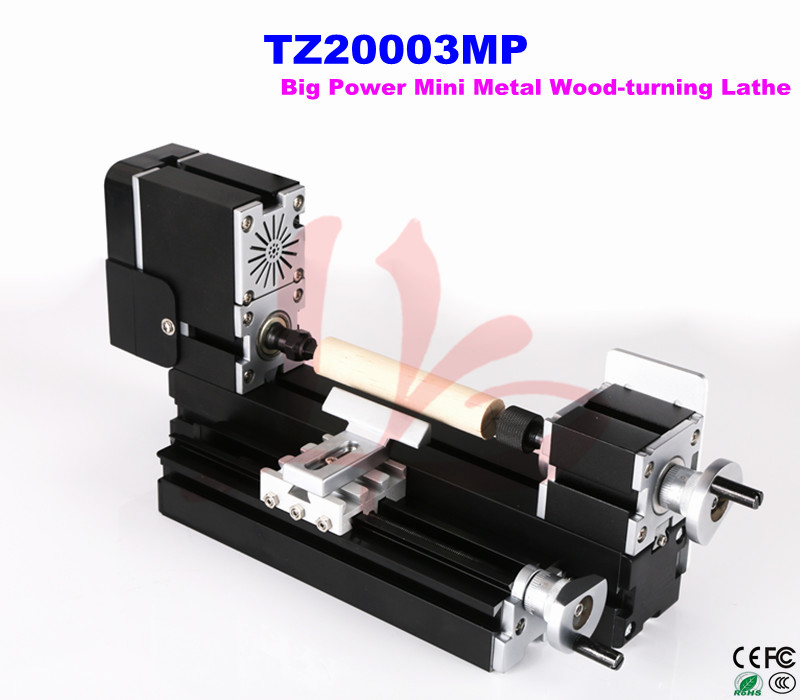 Russia only,no tax!!HOT SALE TZ20003MP Big Power Mini Metal Wood-turning Lathe  Mini Lathe DIY woodworking machine best price mgehr1212 2 slot cutter external grooving tool holder turning tool no insert hot sale brand new