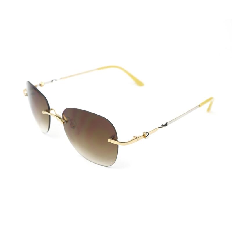 Fashion Oval Sunglasses Women Luxury Brand Designer Carter Sun Glasses Shades Womens Oculos Eyewear Goggles 358
