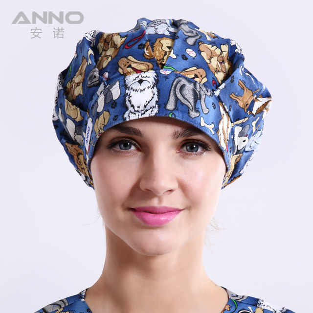 Bon Cap scrub scrub caps women  suitable for long  hair with adjustable nurse hats