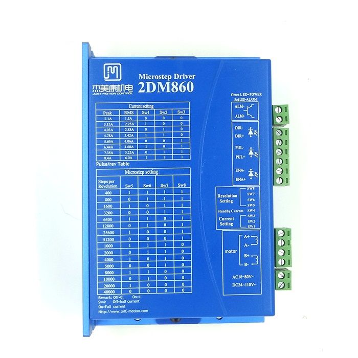 2DM860 digital stepper <font><b>driver</b></font> 86 stepper <font><b>motor</b></font> drive voltage AC30-80V image
