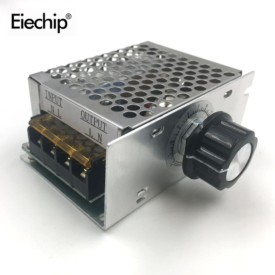 4000W 220V Voltage Regulator High Power AC SCR Dimmer Electr