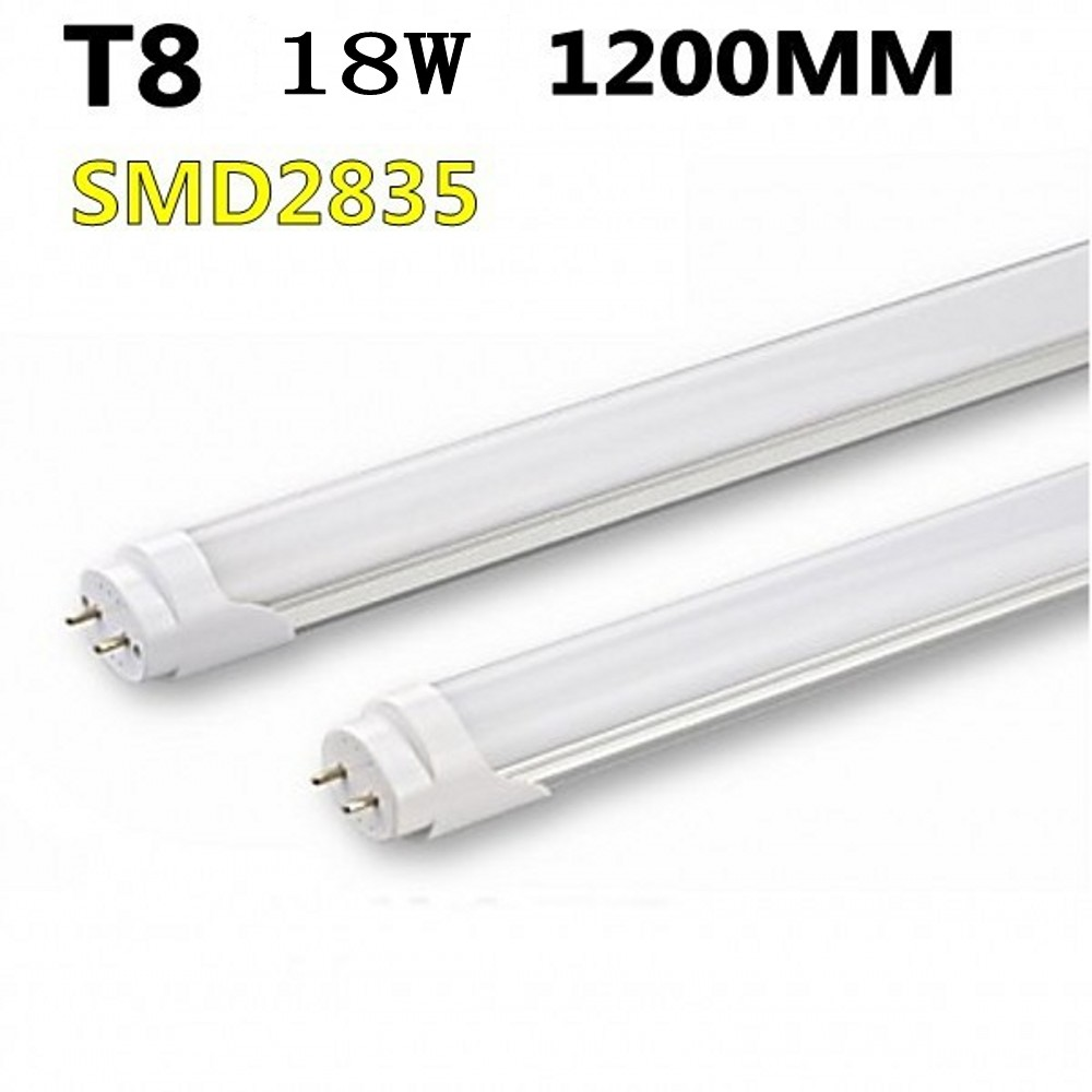 FREE SHIPPING 25pcs/lot T8 <font><b>LED</b></font> TUBE <font><b>18W</b></font> 1200MM/600MM <font><b>LED</b></font> Tube Light SMD2835 High bright AC85-265V image