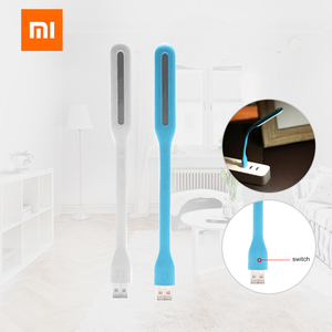 Image 2 - 2019 Original Xiaomi Fan Mijia USB LED Light Xiaomi USB Light With Switch For Power bank/Comupter 5V 1.2W Portable Led Lamp