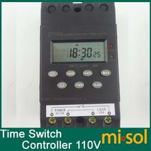10 Pcs 110 V Timer Switch Timer Controller Program/Programmable Timer Switch 25A Amp LCD Display(China)