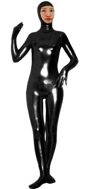 Купить зентай с молнией черный металик унисекс