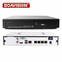 1 0U 8CH 960P 8CH 1080P POE 1HDD NVR Support Onvif Protocol Support High Profile S