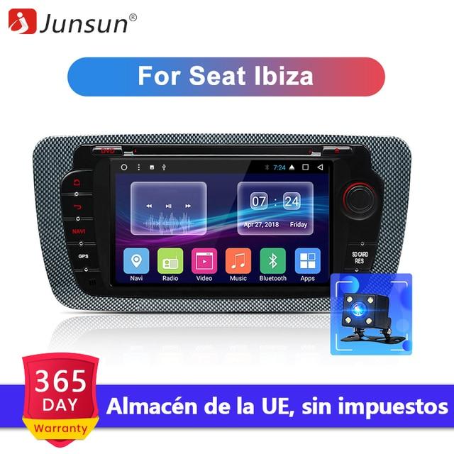 Junsun Android 7,1 автомобильный DVD Rdio для Seat Ibiza 6j 2009 2010 2012 2013 gps навигация 2 Din экран Радио Аудио мультимедийный плеер
