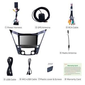 Image 4 - Seicane 9 인치 안 드 로이드 10.0 자동차 라디오 블루투스 4G WiFi 멀티미디어 플레이어 2011 2012 2013 2014 2015 현대 소나타 i40 i45