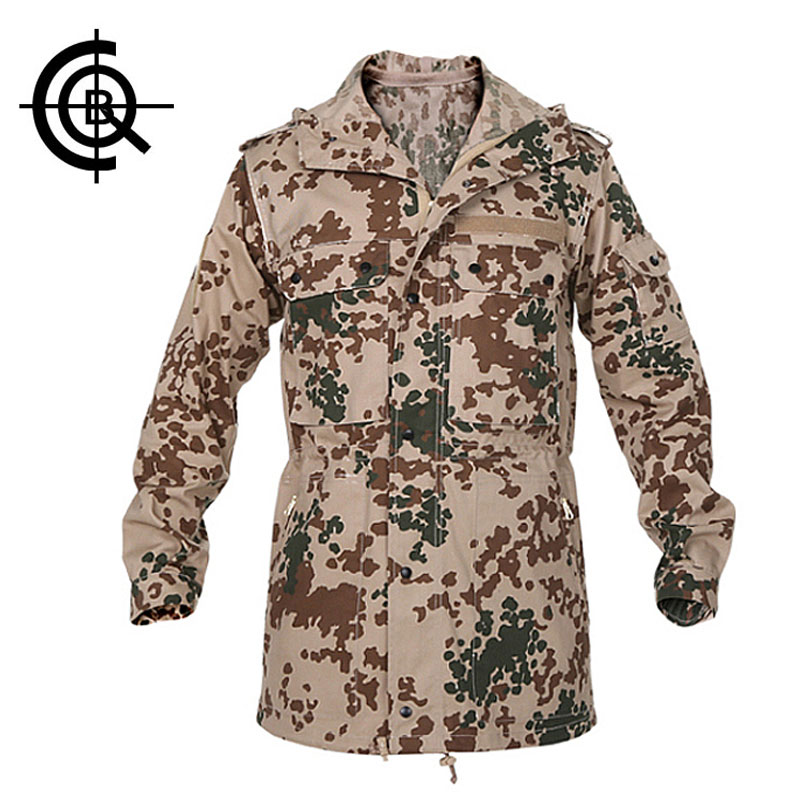 CQB Brand Men Outdoor Overcoat Breathable Coat Military Camouflage Jackets Loose Hooded Cotton Windbreaker Hiking Jacket SY0155 нейрогамма р р д ин амп 1мл n10