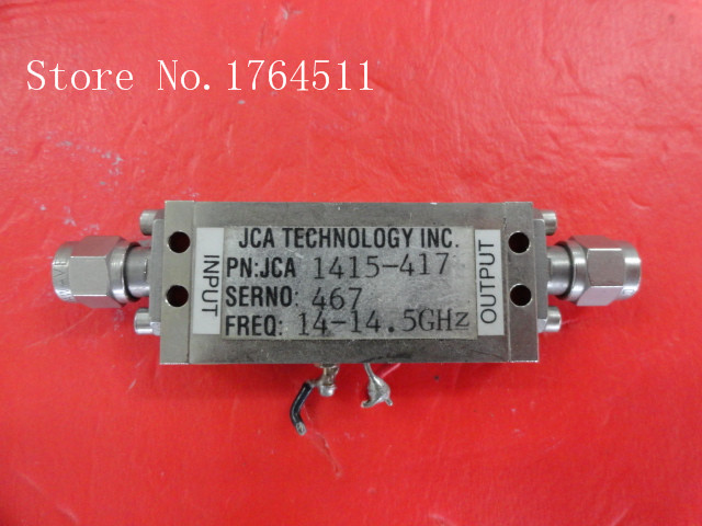 [BELLA] JCA JCA1415-417 14-14.5GHz 15V SMA Supply Amplifier
