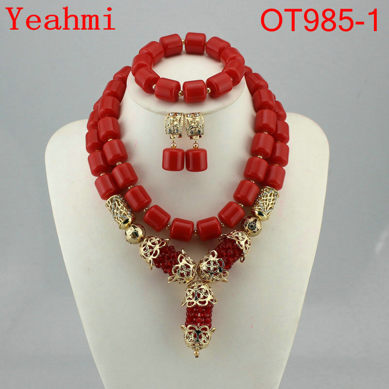 African Wedding Coral Beads Jewelry Set African Beads Jewelry Sets Nigerian Wedding Jewelry Free Shipping OT985-1African Wedding Coral Beads Jewelry Set African Beads Jewelry Sets Nigerian Wedding Jewelry Free Shipping OT985-1