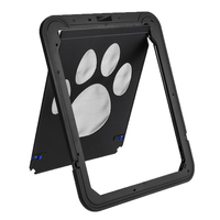 1pcs Pet Dog Cat Felis Animals Doghole Dog Tunnel Entry Frame Screen Gate Window Mesh Magnet